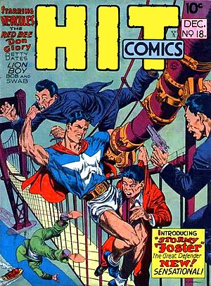 Reed Crandall - Image: Hit Comics 18