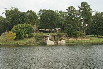 Hodges Gardens State Park - A view of A. J. Hodges Island.
