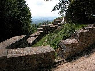 Hohenstaufen Castle - Image: Hohenstaufen Castle Ruins 1