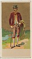 Holland, from the Natives in Costume series (N16), Teofani Issue, for Allen & Ginter Cigarettes Brands MET DP834880.jpg