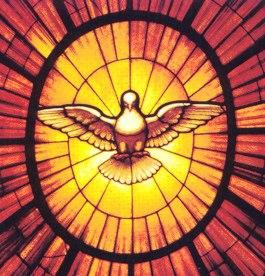 Holy Spirit as Dove (detail)