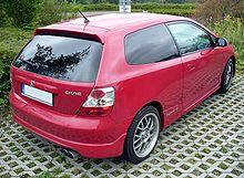 Honda Civic Sport Facelift Heck.JPG