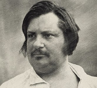 Honoré de Balzac - Daguerrotype taken in 1842