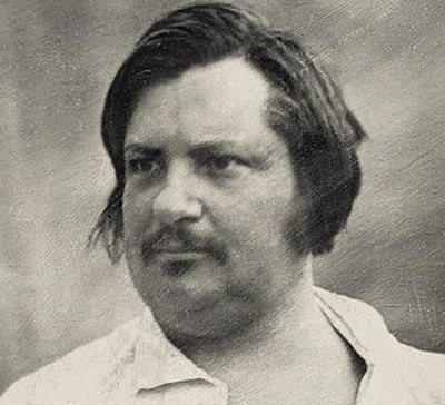 Picture of an author: Balzac