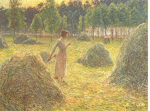 Waregem - Haystacks by Emile Claus