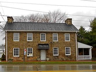 Hopwood, Pennsylvania - The Hopwood-Miller Tavern