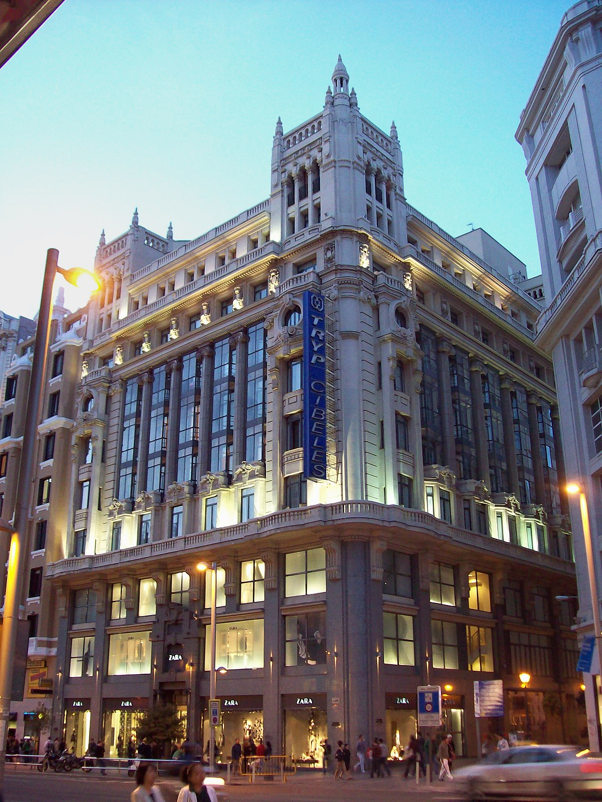 Tryp hoteles wikipedia la enciclopedia libre for Hoteles vanguardistas en madrid
