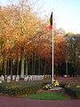 Houthulst - Military Cemetery - Belgian flag 1.jpg
