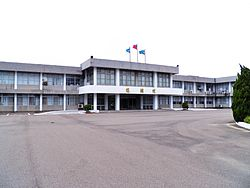 Hsinchu AFB Ching-kuo Building 20120602.jpg