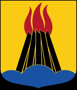 Huddinge Municipality - Image: Huddinge kommunvapen Riksarkivet Sverige