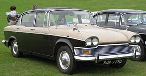 Bali Mauladad - A late-model Humber Super Snipe similar to that used for the Safari Rally