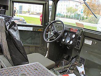 Humvee - Humvee interior