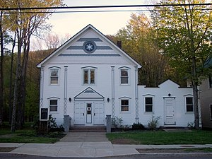 Hunter (village), New York - Hunter Synagogue