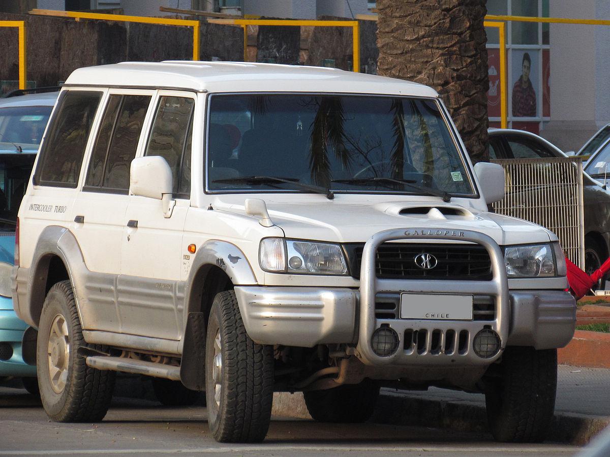 Hyundai Galloper Wikip 233 Dia A Enciclop 233 Dia Livre