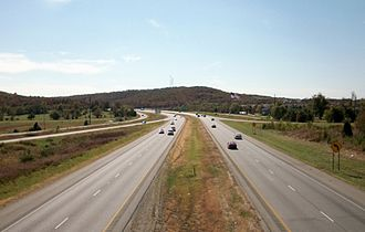 Interstate 49 in Arkansas - I-49 in Northwest Arkansas