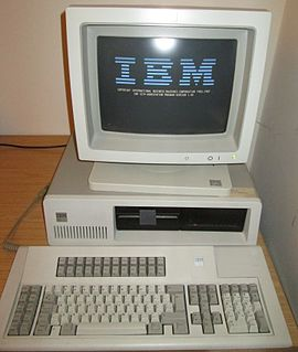 IBM 3270 PC IBM PC model containing 3270 terminal emulation hardware