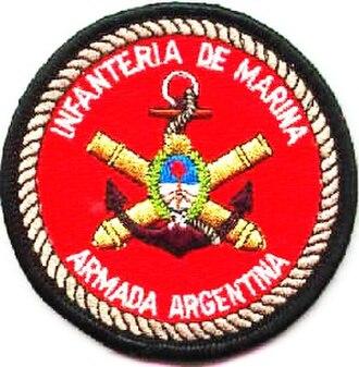 5th Naval Infantry Battalion (Argentina) - IMARA insignia