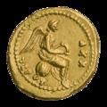 INC-2953-r Золотой квинарий. Тиберий. Ок. 23—24 гг. (реверс).png
