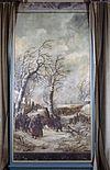 interieur, bovenkamer, geschilderd behang, paneel - nieuwenhoorn - 20264318 - rce
