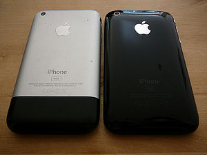 IPhone 3G - Image: I Phone & i Phone 3G