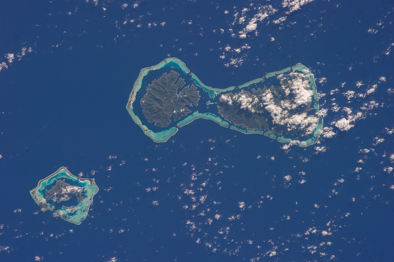 Raiatea French Polynesia  city pictures gallery : ISS 37 Bora Bora, Tahaa and Raiatea in French Polynesia