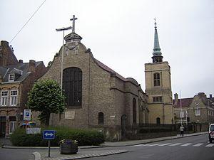 Saint George's Memorial Church, Ypres - Image: Ieper Saint George's Memorial Church 1