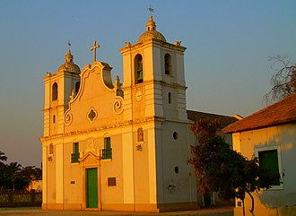 Christianity in Angola - Old Portuguese church in Benguela