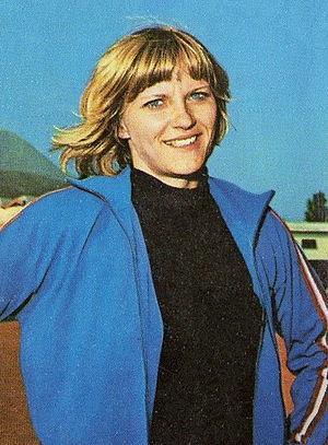 Ilona Gusenbauer - Ilona Gusenbauer in 1972