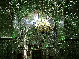 Shah Cheragh - Image: Imamaden mosque interiors, Shiraz