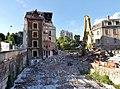 Immeuble du Fbg Nézin à Chambéry pendant sa démolition (2016).JPG