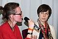 Ina Freudenschuß, Chris Köver auf der re publica10 (4534331199).jpg