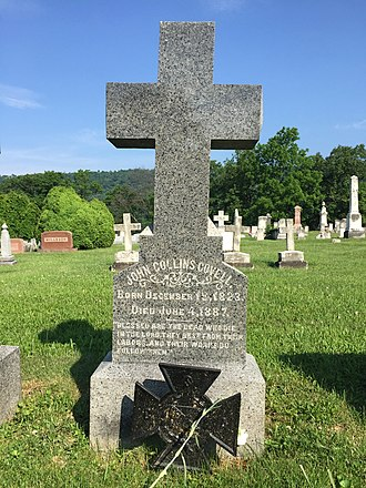 John Collins Covell - Image: Indian Mound Cemetery Romney WV 2015 06 08 26