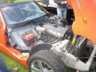 Indigo 3000 - Engine with original Volvo valve cover