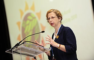 International Union for Conservation of Nature - Inger Andersen, IUCN Director General since January 2015