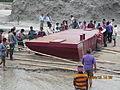 Installation of Experimental floating landing station at Meghai-Jamuna Adarsha ghat, Sirajganj 47.JPG