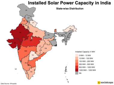 Solar Power In India Wikipedia