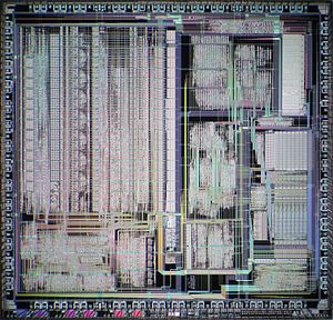Clipper architecture - Die of Clipper C300 CPU