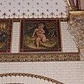 Interieur, bel-etage, achterzijde rechts (Vestibule van de wachtkamer eerste klasse), muurschildering, De maand juni - Amsterdam - 20392768 - RCE.jpg