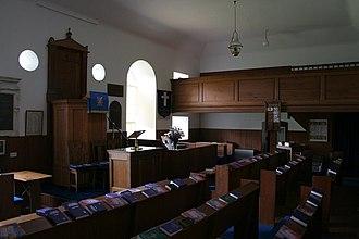 Kilmodan Church - Image: Interior, Kilmodan Church geograph.org.uk 852050