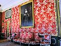 Interior of Nieborów Palace - Red Salon - 01.jpg