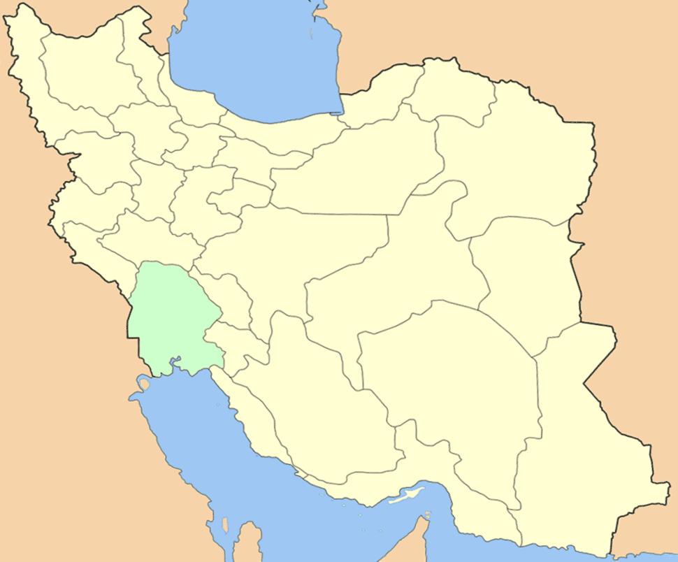 Хузестан Ираны картæйыл