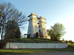 Lenawee County, Michigan - Towers of the Irish Hills near Hayes State Park