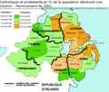 Irlande du nord - recensement de 2001 - carte.png
