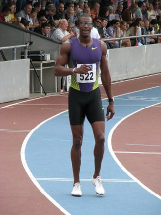 Jamaica at the 2008 Summer Olympics - Isa Phillips, who participated in the men's 400 meters hurdles for Jamaica at Beijing