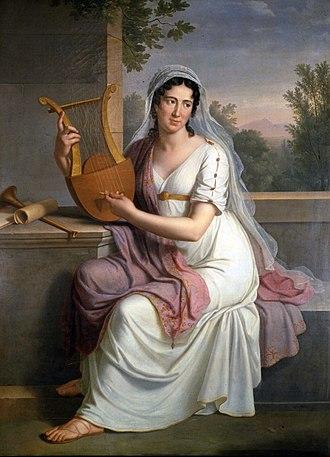 Gioachino Rossini - Isabella Colbran, prima donna of the Teatro San Carlo, who married Rossini in 1822