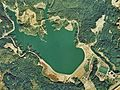 Isaka Dam lake survey 1975.jpg