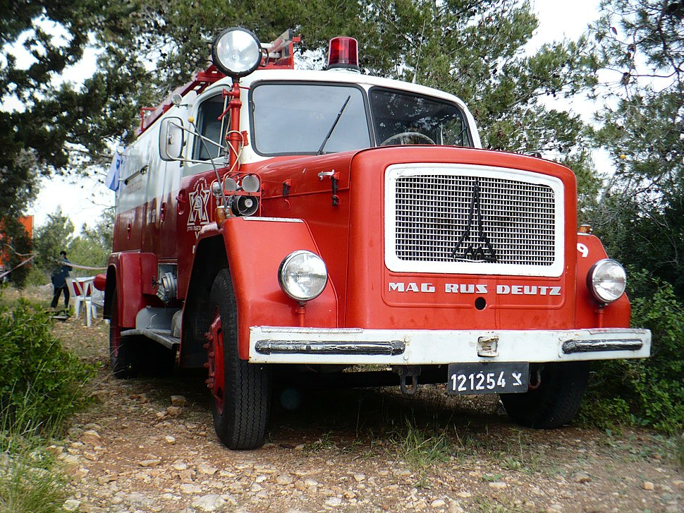 Israeli-magirus-firefighter-car