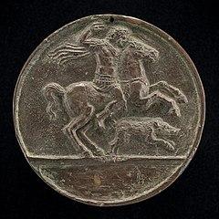 Meleager on Horseback [reverse]