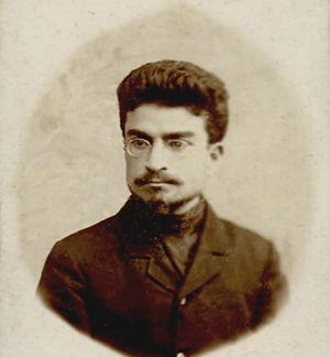 Ivan Solomonovich Beritashvili -   Ivane Beritashvili as a student of St. Petersburg University (1910).