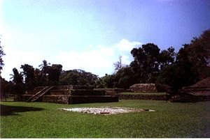 Izapa - View of the ruins of Izapa